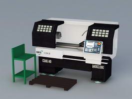 CNC Machine 3d preview