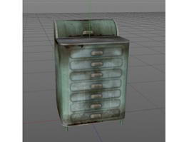 Medical Surgical Cabinet 3d preview