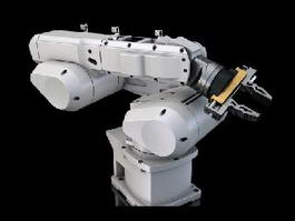 Mechanical Robot Arm 3d preview