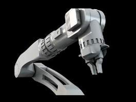 Mechanical Robotic Arm 3d preview