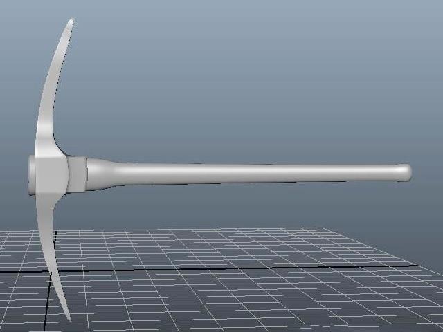 Pickaxe Tool 3d rendering