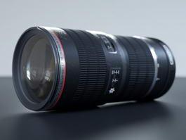 Canon Lenses 3d preview