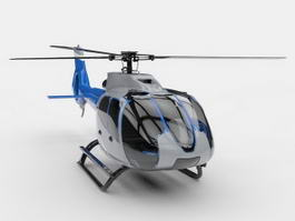 Generic Helicopter 3d preview