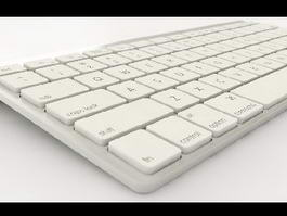 Apple Keyboard 3d preview