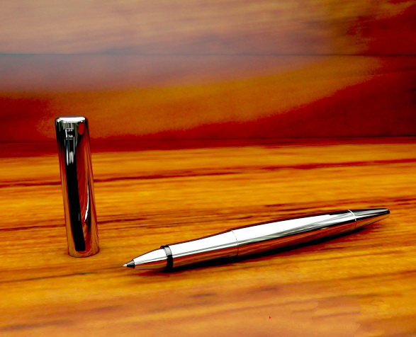 Ball Point Pen 3d rendering