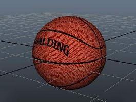 Spalding Basketball Ball 3d preview