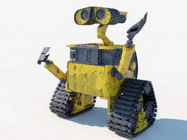 Wall-E 3d model preview