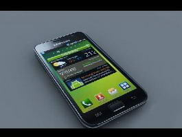 Samsung Galaxy S I9000 3d model preview