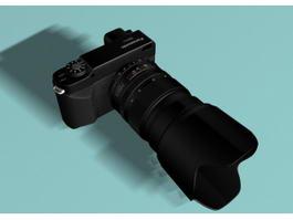 Panasonic Lumix DMC L1 Camera 3d preview