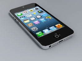Apple iPhone 5s 3d preview