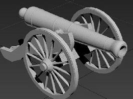 Artillery Cannon 3d preview