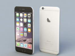 iPhone 6 3d model preview