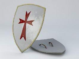 Crusader Shield 3d preview