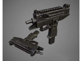 Uzi Pro Submachine Gun 3d preview