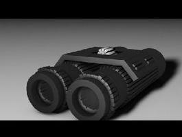 Military Binoculars 3d preview