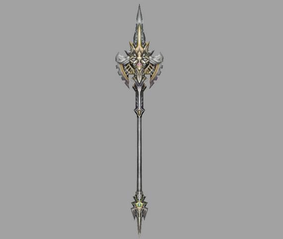 King Scepter 3d rendering