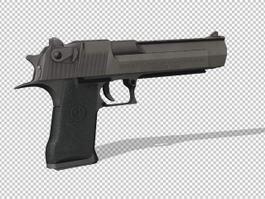 Desert Eagle Deagle Pistol 3d preview