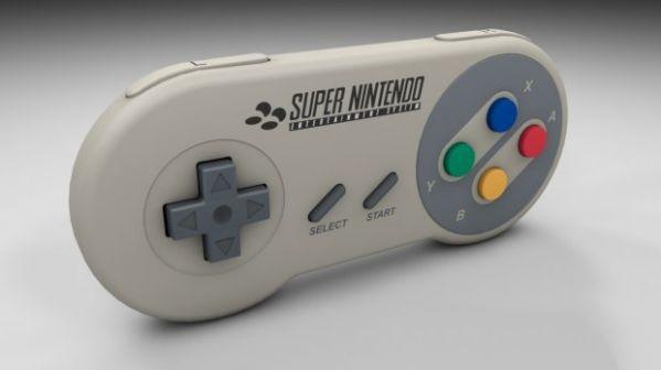 Gamepad Controller 3d rendering