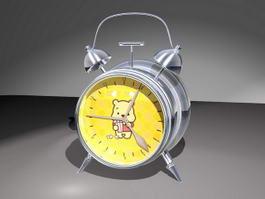 Cute Alarm Clock 3d model preview