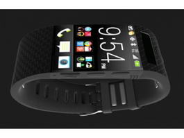 Smartwatch 3d preview