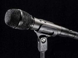 Microphone with Cord 3d preview