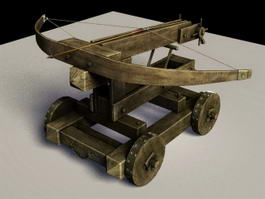 Ballista Crossbow 3d preview
