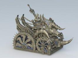 Bronze War Chariot 3d preview