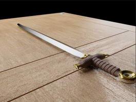 Viking Sword 3d preview