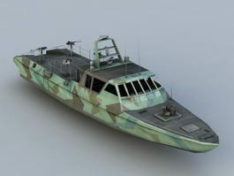 Navy Patrol Boat 3d preview