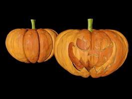 Halloween Pumpkins 3d preview