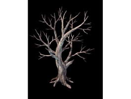 Creepy Dead Tree 3d preview