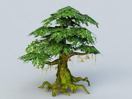 Ancient Tree 3d model preview
