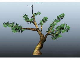 Spring Tree 3d model preview
