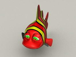 Finding Nemo Clown Fish 3d preview