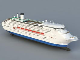 Sea Cruise Ship 3d preview