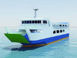 Ferry Boat 3d preview