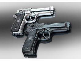 Pietro Beretta Pistols 3d preview