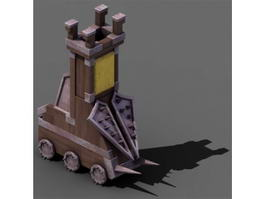 Medieval Battering Ram 3d preview