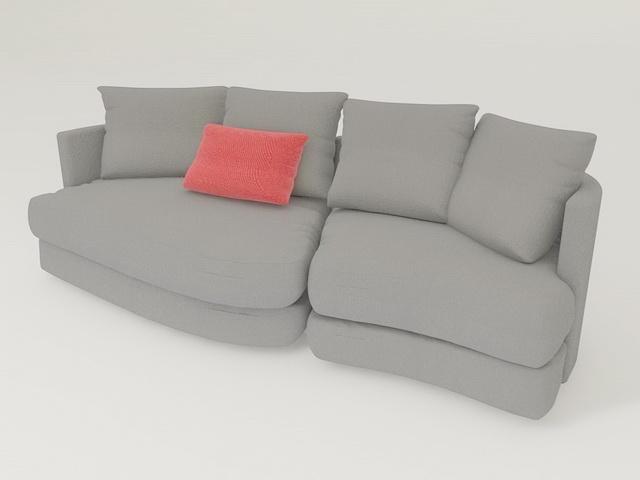 Rolf Benz Sofas 3d rendering