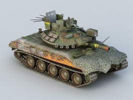 Cavalera Light Tank 3d model preview