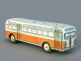 Old Bus 3d preview