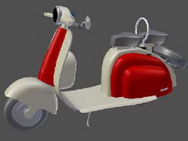 Lambretta Scooter 3d preview
