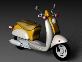 Motor Scooter 3d preview