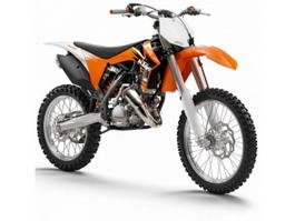 KTM Dirt Bike 3d preview