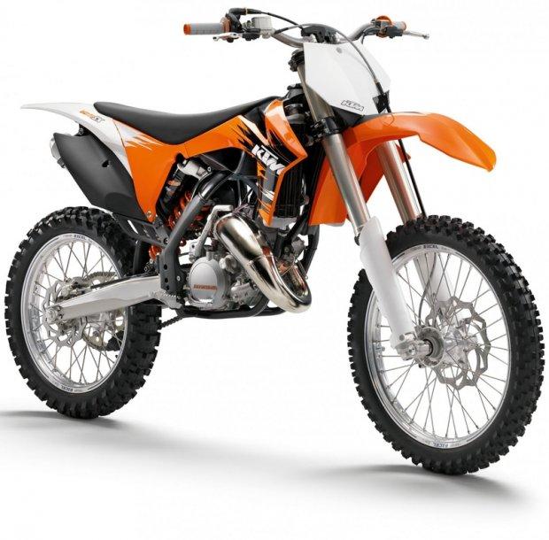 KTM Dirt Bike 3d rendering
