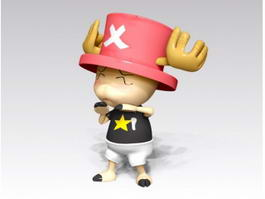 One Piece Tony Tony Chopper 3d preview