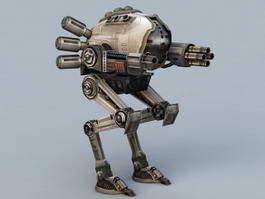 Future Mech Walker 3d model preview