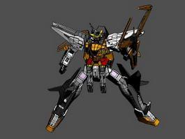 Dark Angel Gundam 3d preview