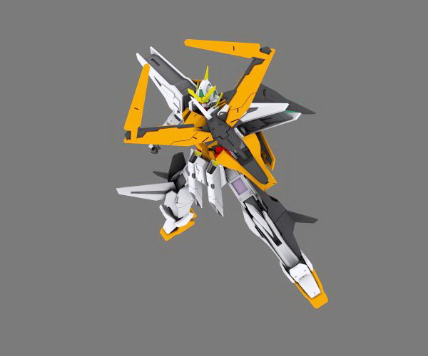 Dark Angel Gundam 3d rendering