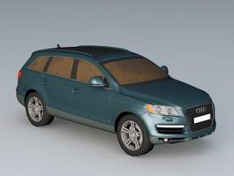 Audi SUV Q7 3d preview